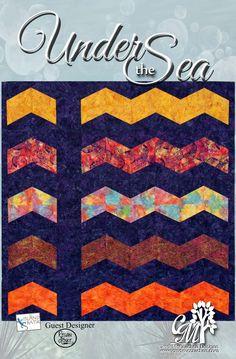 Under the Sea quilt (CMD56) - Cindi McCracken Designs by thepatternloft on Etsy