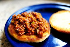 Pioneer Woman Sloppy Joes- made these tonight SO. GOOD!  I replaced the chili powder for some paprika and cayenne pepper!