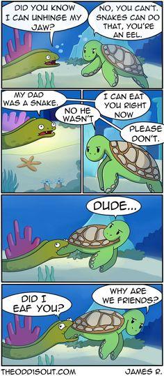 Theodd1sout :: I'm Part Snake | Tapas Comics - image 1