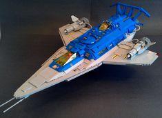Galaxy Explorer 2.0  Profile A by LegoSpaceGuy http://flic.kr/p/wnMATp