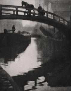 Regent's Canal, London, 1904