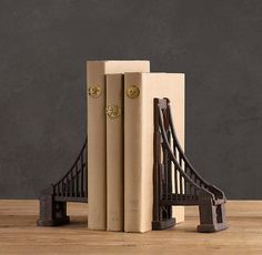 Golden Gate Bridge book ends