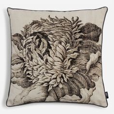 'Floral Hatching' Cushion - Sir John Soane, from £60 at surfaceview.co.uk