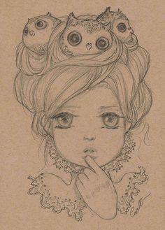 Hootie by camilladerrico.deviantart.com on @deviantART