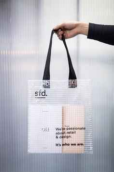 sfd branding for Euroshop 2017 translucent bag