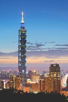 Taipei cityscape - by: liu han-lin