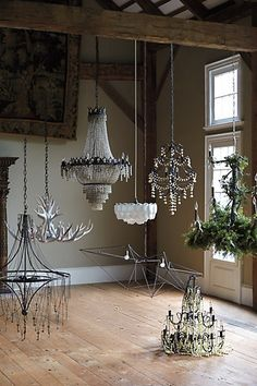 chandeliers galore #AnthroFave