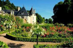 Jardins et château de la Chatonnière / Azay-le-Rideau / Indre-et-Loire / Centre-Val de Loire