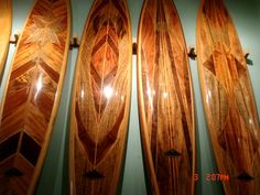 SURF'S UP.  Check out these amazing wood surfboards made in Hawaii with Koa, mango, sapele, and mahogany.  Only at Martin & MacArthur stores or right here --> www.martinandmacarthur.com