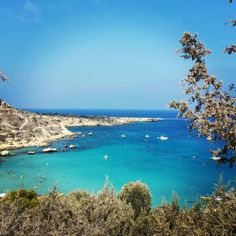 Cyprus beaches! Konos Bay. Beautifully blue. Stay calm cool and relaxed!