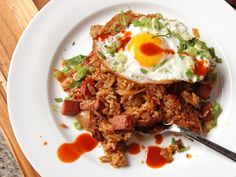 Kimchi and Spam Fried Rice Recipe | Serious Eats