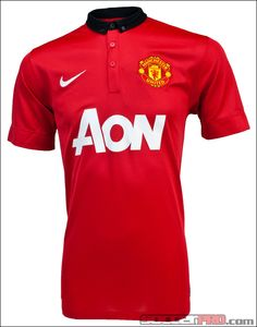 Nike Youth Manchester United Home Jersey 2013-2014...$67.49