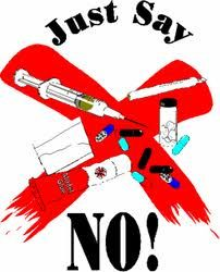 Classroom Freebies: Just Say No Poster Drug Free Posters, Drug Free Week, Drugs Art, Red Ribbon Week, Campaign Posters, Poster Drawing, Just Say No, Classroom Freebies, Bachelor Of Fine Arts
