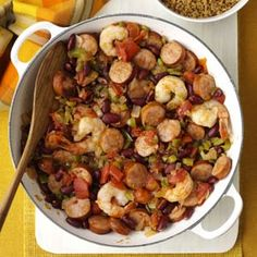 Creole Shrimp and Sausage