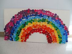 3 R's Project ~ decor for rainbow party!