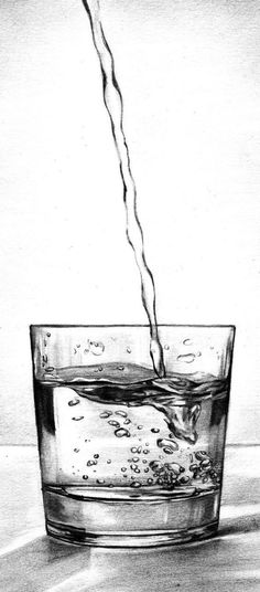 How To Draw Glass And Transparent Objects – Learn More - Bored Art