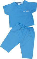 Blue Baby Scrubs @studioNotes