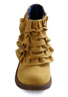 ruffle--I know it's a shoe, but, hey, it's got a ruffle