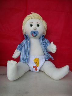 Boneco Bebe do Gugu artsboomer.blogspot.com.br