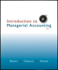cost accounting assignments