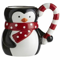 Penguin Mug melts away the chill with warm concoctions and charm.