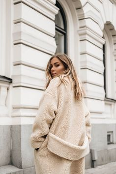 Shearling Teddy Coat Jacket