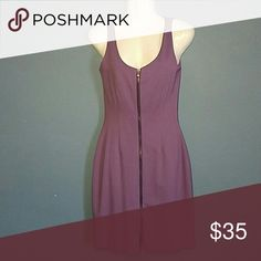 Sexy Amy Matto zipper dress Gently used still in great condition  Currently accepting all offers on all my listings so look around an bundle to save $$! Amy Matto Dresses High Low