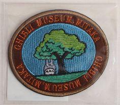 Studio Ghibli Museum Wappen Applique Patch Japan Hayao Totoro Limited Rare