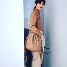 Suede on the blog! #ootd #outfitoftheday #lookoftheday #fashion #fashiongram #style #love #beautiful #currentlywearing #lookbook #wiwt #whatiwore #whatiworetoday #ootdshare #outfit #clothes #wiw #mylook #fashionista #todayimwearing #instastyle  #instafashion #outfitpost #fashionpost #todaysoutfit #fashiondiaries    #Regram via @umblogfashion Outfit Posts, What I Wore, Bucket Bag, Outfit Of The Day, Lily, Blog, Outfits, Clothes, Beautiful