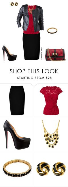 """""""FALL 2013 LOOK"""" by marion-fashionista-diva-miller ❤ liked on Polyvore featuring Christian Louboutin, DKNY, Coast, Amrita Singh, Promod and Style Tryst"""