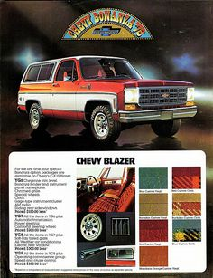 1978 Chevrolet Blazer Bonanza Packages | by aldenjewell