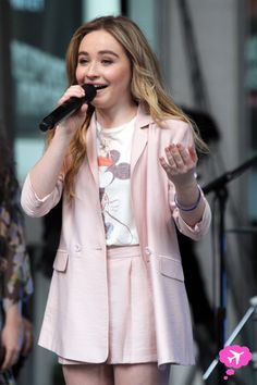 "Sabrina Carpenter's Magical Performance Of ""White Flag"" For Disney Playlist"