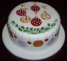 Pretty Christmas Cakes   Time For The Holidays