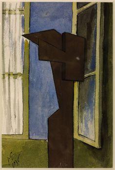 Julio González   Figure at a Window 1936