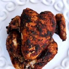 Rotisserie Chicken in the Slow Cooker - The Kitchen Magpie - Low Carb Low Carb Recipes, Cooking Recipes, Healthy Recipes, Rotisserie Chicken, Tandoori Chicken, Crock Pot Slow Cooker, Crockpot, Daily Meals, Food Dishes