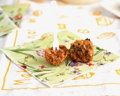 Vegan pizza balls - maybe add some bone broth, cheese, shredded pepperoni to convince the boys?