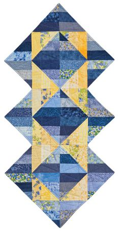Triangle Illusions-free pattern