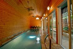 Indoor lap pool!
