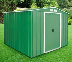 Buy a Sapphire 8ft x 8ft Metal Garden Shed securely at GardenSite for only £349.00. We offer fast UK delivery, cheap prices and our 5-star service which is backed up by over 5000 reviews. We're open 7 days a week so shop online now or call 0121 355 7701 for free advice. BUY TODAY >>>
