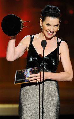 Congrats to Julianna Margulies on your Emmy Award!