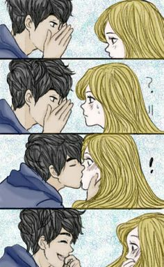 Pin by jessy reyes on anime in 2019 anime couples, cute couple comics, love Cute Couple Comics, Couples Comics, Cute Couple Art, Anime Love Couple, Cute Comics, Cute Anime Couples, Cute Couple Drawings, Cute Drawings, Anime Kiss
