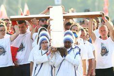 Najlepsze zdjęcia z wizyty papieża Franci szka w Polsce -droga krzyzowa na Błoniach pod Krakowem