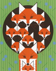 Charley Harper: Graphic Artist and Master of Minimal Realism