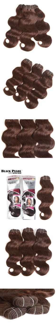 Black Pearl Pre-colored Yaki Straight Human Hair Bundles Brazilian Hair Weave Bundles Hair Extension 1 Bundle Hair Weft 100g 1b# Human Hair Weaves Hair Extensions & Wigs