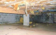 crawl space insulation and other problems...and solutions.