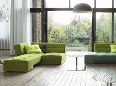 Pratiques, élégants et confortables, les canapés modulables inventent un confort à la carte....