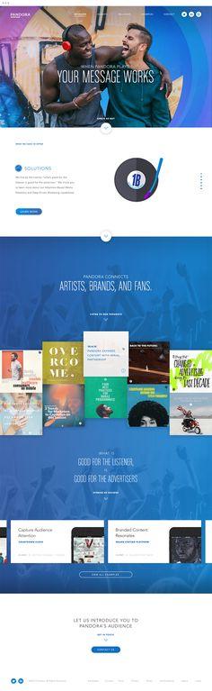 Pandora Advertising Website Case Study | Bukwild