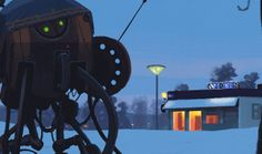 There is something very special about the light in the far northern latitudes. Seizing upon this readily available source of atmospheric melancholy, artist Simon Stalenhag creates strange yet familiar landscapes. Injected with retro science fiction elements and deep-rooted pop culture references, his work goes far beyond that of simple genre painting. His world may be […]