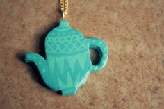 Thè Time, Necklace by Papuzzini Smellow, via Flickr
