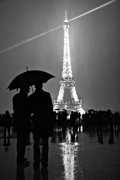 Eiffel Tower silhouette ""